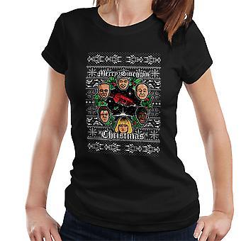 Merry Smeggin Christmas Red Dwarf Women's T-Shirt