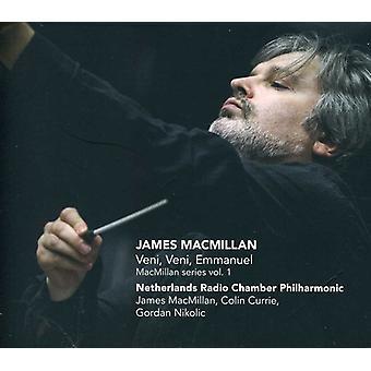 J. Macmillan - James Macmillan: Veni, Veni, Emmanuel [CD] USA import