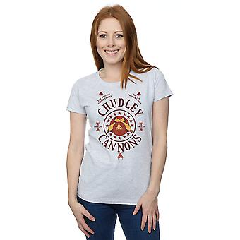 Harry Potter Women's Chudley Cannons Logo T-Shirt