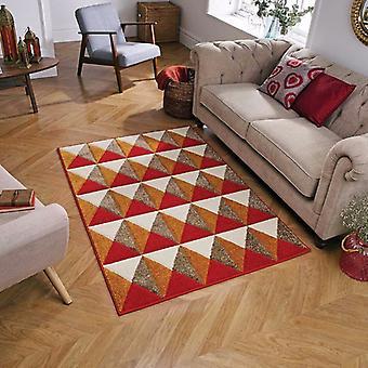 Portland 6994 R Rectangle rouge tapis tapis modernes