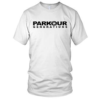Parkour Generations Street Running Kids T Shirt