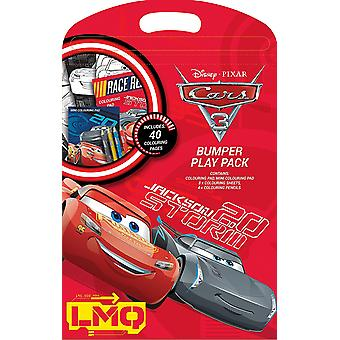 Disney Cars 3 Bumper Play Pack - Colouring Pad , Pencils and Sheets