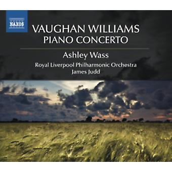 Vaughan Williams: Piano Concerto / The Wasps/ English Folksong Suite/ The Running Set by Judd