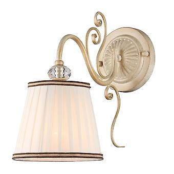 Maytoni Lighting Vintage Elegant Collection Sconce, White Gold