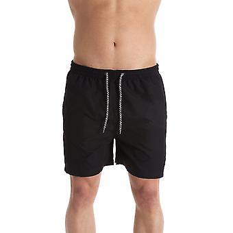 Indian Affairs Mens Black Swimming Shorts