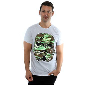 Star Wars Men's Stormtrooper Command Camo T-Shirt