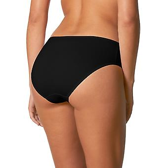 Mey 29482-3 Women's Balance Black Solid Colour Knickers Panty Brief