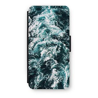iPhone 5/5 s/SE フリップ ケース - 海の波