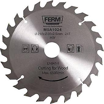 Ferm MSA1024 Diameter: 210 mm Number of cogs: 24 Thickness:2.5 mm saw bl
