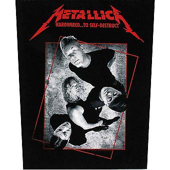 Metallica Back patch Hardwired To Self-destruct new Official sew on 36cm x 28cm