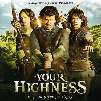 Steve Jablonsky - Your Highness [Original Score] [CD] USA import