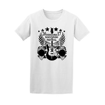 Cool Grunge New York Music Fest Tee Women's -Image by Shutterstock