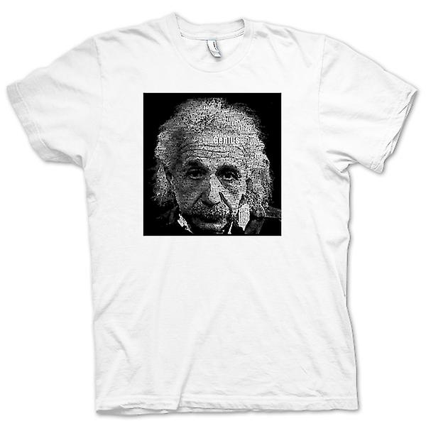 Womens T-shirt - Albert Einstein Word Cloud - Genius