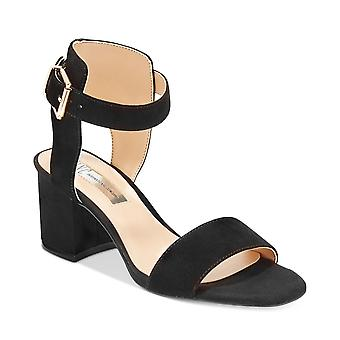 INC International Concepts Womens Hallena Leather Open Toe Casual Ankle Strap...
