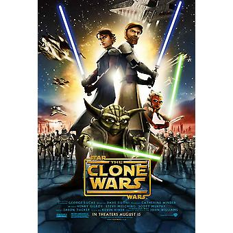 Star Wars The Clone Wars Movie Poster (11 x 17)