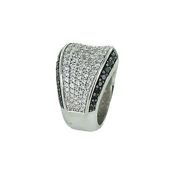 Esprit Collection Damen Ring Silber Zirkonia Aura Gr.16 ELRG91823B160