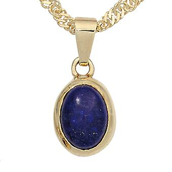 Lapis lazuli pendant 585 Gold Yellow Gold 1 Lapis blue