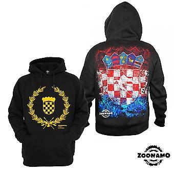 Zoonamo Hoody Croatia of classic