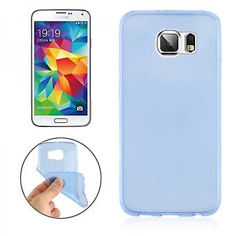 Silikoncase Blau 0.3 mm ultra tynn tilfelle for Samsung Galaxy S6 G920 G920F