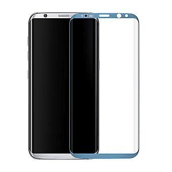Premium of 0.3 mm bent tempered glass blue film for Samsung Galaxy S8 G950 G950F