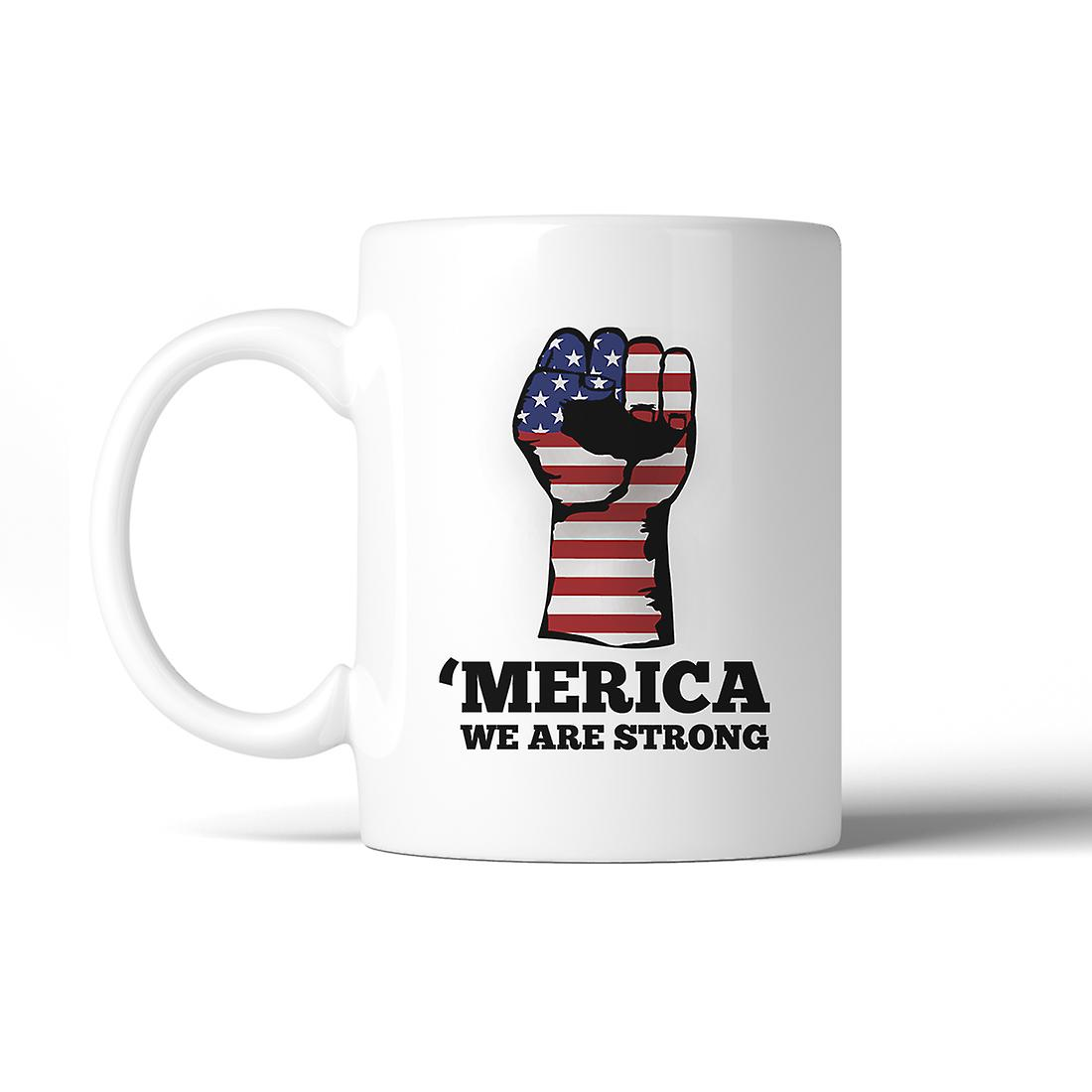 Strong We July Oz Coffee Mug Gifts Are 4th Of Merica Ceramic 11 mgbfIY6v7y