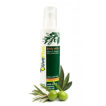 Body milk with olive oil and leaf extract 200ml.