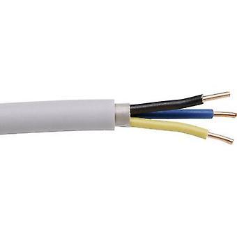 Kopp 153110843 Sheathed cable NYM-J 3 G 2.50 mm² Grey 10 m