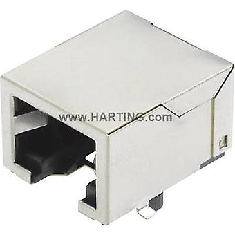 Harting 09 45 551 1110 Sensor/actuator data cable Socket, build-in No. of pins (RJ): 8P8C 1 pc(s)