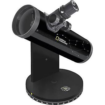 Reflecting telescope National Geographic 76/350, DOBSON Azimuthal Dobson, Magnification 18 up to 117 x