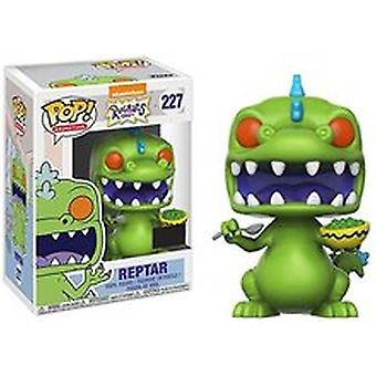 Funko Pop! Animation Nickelodeon Rugrats Reptar #227 (with Cereal)