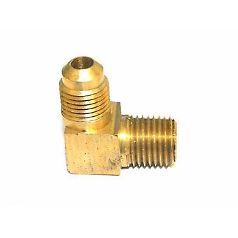 Big A Service Line 3-14954 90 deg Male To Male Elbow Brass Fitting 5/16