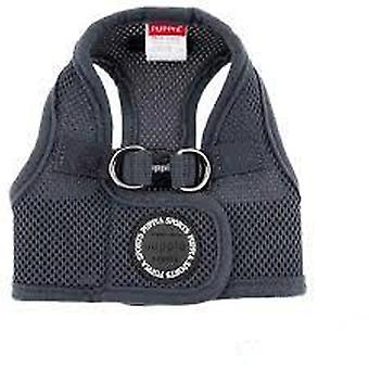 Puppia Soft Harness Vest Gray (Dogs , Collars, Leads and Harnesses , Harnesses)