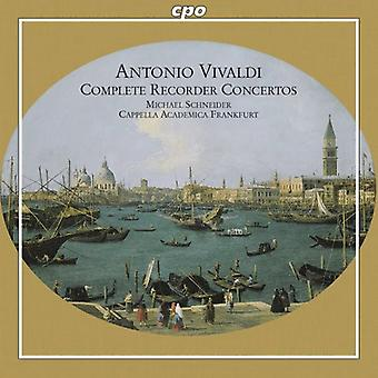 A. Vivaldi - Vivaldi: Complete Recorder Concertos [CD] USA import