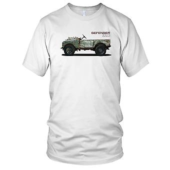 Land Rover Defender 110 SAS, forze speciali deserto Jeep Ladies T Shirt