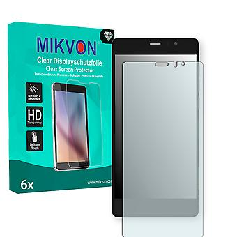 Archos 55 Diamond Selfie Screen Protector - Mikvon Clear (Retail Package with accessories) (intentionally smaller than the display due to its curved surface)