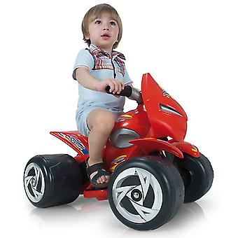 Injusa Alien 6V Kids Quad Bike Red