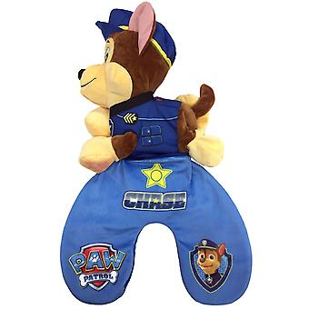 Paw Patrol 2in1 Chase Reversible Travel Pillow and Plush Toy Blue