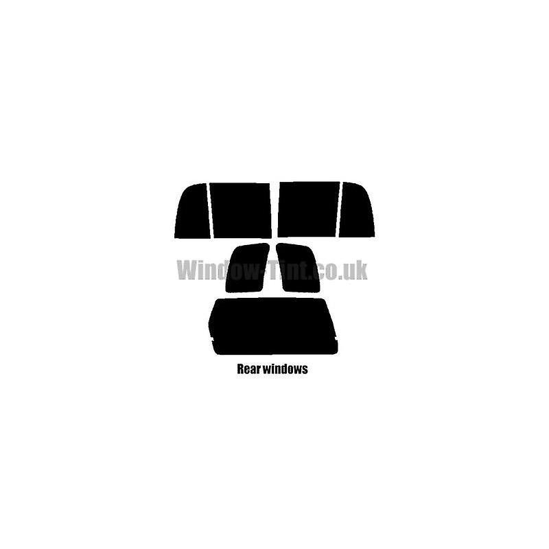 Pré coupe fenêtre windows de teinte Suzuki Grand Vitara 5 portes - 1998 à 2005 - arrière