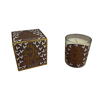 Lovely Sister Gift Boxed Candle