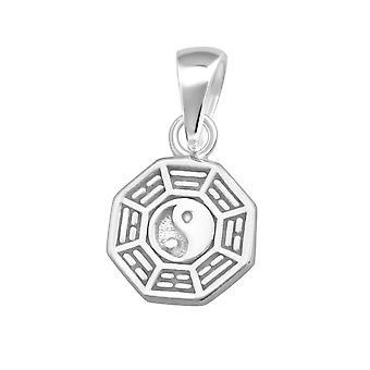 Yin-yang - 925 Sterling Silver Plain Pendants - W36751x