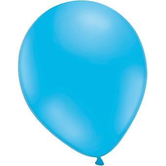 Ballons leuchten blau 25-Pack.