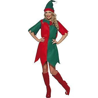 Elf Costume, Ladies Tunic, UK Dress 12-14