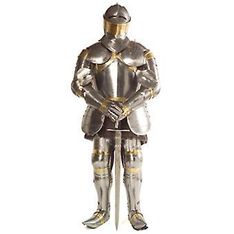 Chevalier dans l'armure brillante - Lifesize Découpage cartonné / Standee