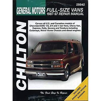 GM Full-size bestelwagens (1987-97) (Chilton totale auto zorg)