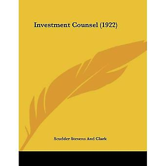 Investment Counsel (1922)