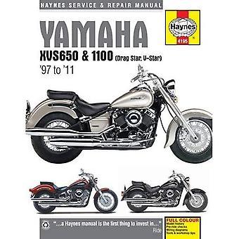 Yamaha XVS650 & 1100 (Drag Star, V-Star) Service and Repair Manual: 1997 to 2011
