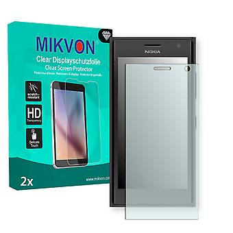 Nokia Lumia 735 Screen Protector - Mikvon Clear (Retail Package with accessories) (reduced foil)