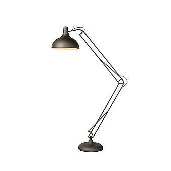 مصباح قراءة الكلمة الحديد الرمادية المعدنية الصناعية واتس لسيد
