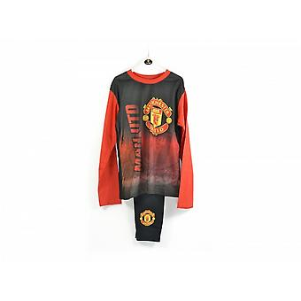 Man UTD Football Childrens Boys Pyjamas