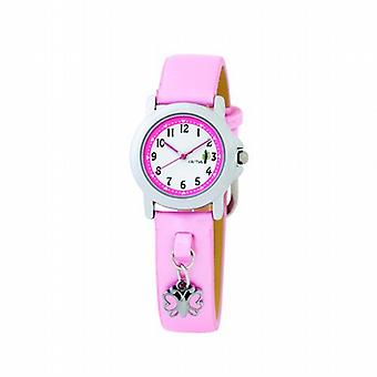 Cactus Gift Set Charm Bracelet & Pink Strap Girls Fashion Watch CAC-44-L05